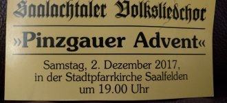 Pinzgauer Advent Saalfelden