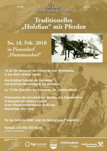 Plakat zur Feier 60 Jahre Reitergruppe Piesendorf